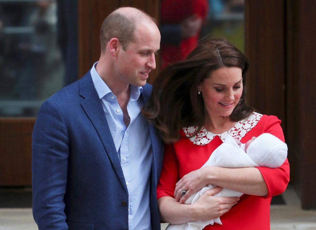 Нарешті: Кейт Міддлтон і принц Вільям оголосили ім'я новонародженого сина (фото)
