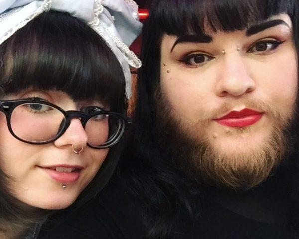 26-річна дівчина перестала голити бороду і зустріла своє кохання (фото)
