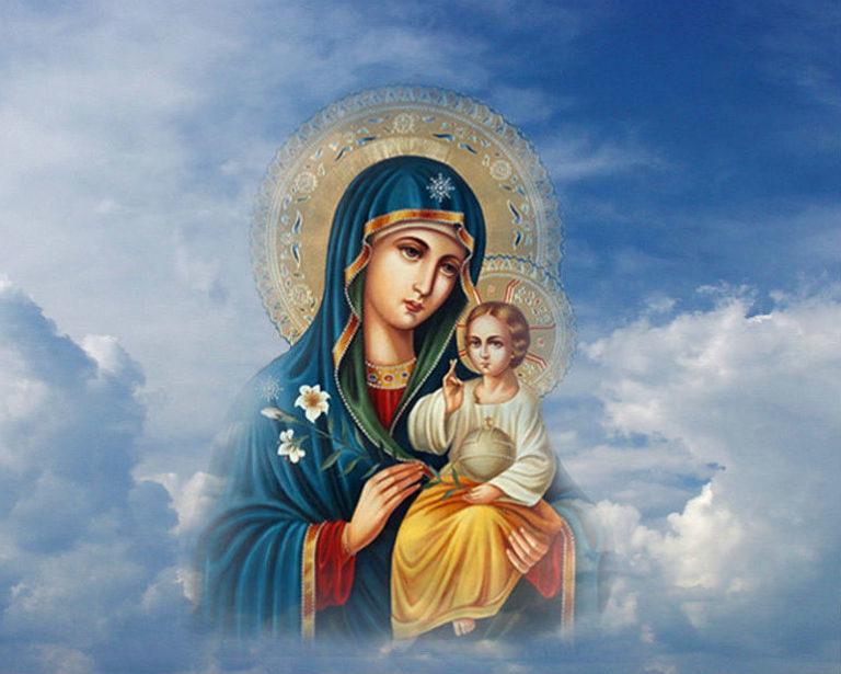 Иркутска, открытки святой матери