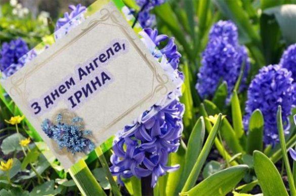 18 травня – день Ангела у Ірини! Нехай доля завжди Вам усміхається. Усе, що  задумали, хай завжди збувається – Особлива